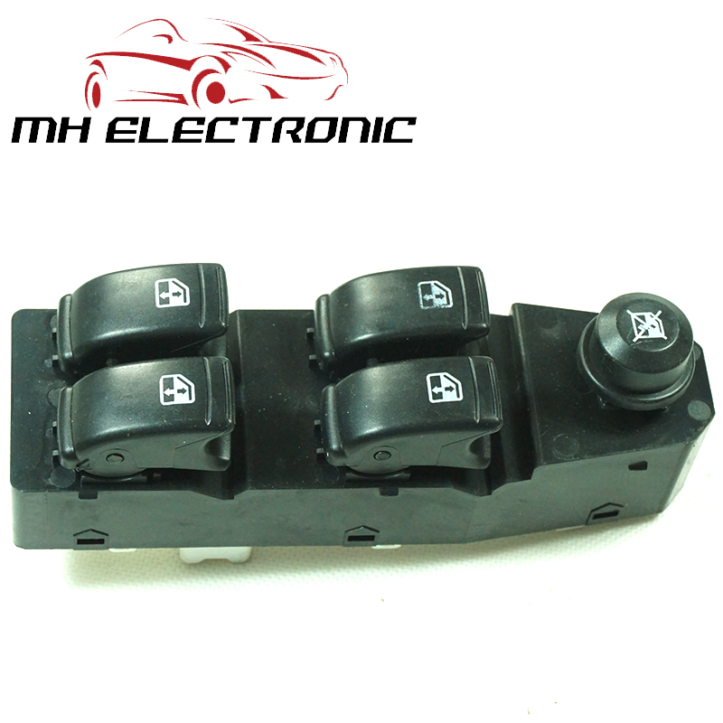 MH Electronic High Quality NEW Left Master Power Window Switch 202005158 For Chevrolet Aveo For Pontiac Wave 1.6L 2006 2007 2008