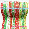 20 Yards 2 5CM Printed CHRISTMAS Lovely Grosgrain Ribbon 10 Styles Can Choose Style