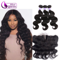 Lace Front Closure With Bundles Body Wave Frontal With Bundles Ear To Ear Lace Frontal Closure Peruvian Body Wave With Closure
