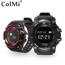 Ограниченное предложение Colmi T1 Смарт-часы Водонепроницаемый IP68 сердечного ритма Мониторы Bluetooth 4.0 Открытый Спорт часы для iOS телефона Android SmartWatch