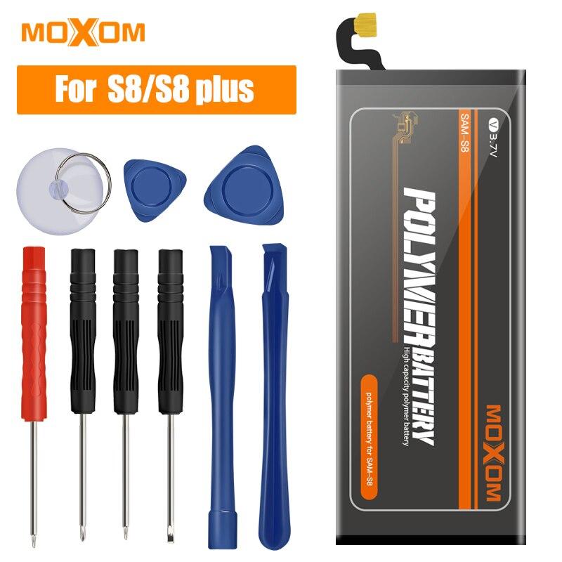 2019 neue MOXOM Batterie Für Samsung GALAXY S8 S8 Plus Batterie G950 G955 Ersatz Li-Polymer Batterien Für Samsung galaxy S8