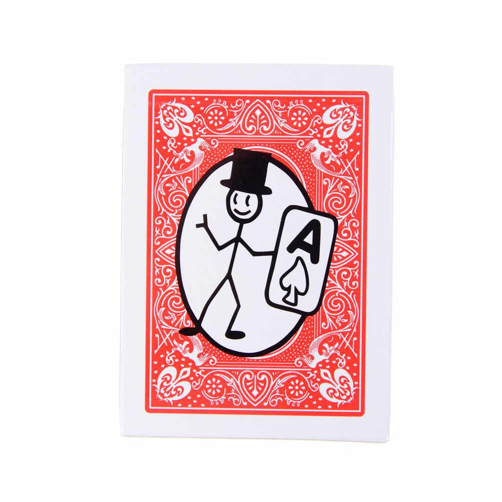 Nowe magiczne rekwizyty Cartoon Cardtoon Deck Pack karty do gry Toon animacja przewidywania, magiczne sztuczki, sztuczka, zabawna magia
