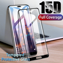 15D Tempered Glass On For Huawei P20 P30 Lite Pro Full Cover Protective For Huawei P10 P9 Lite Plus Screen Protector Glass Film цены