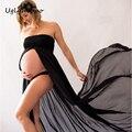 Nuevas Mujeres Vestidos MO53 Apoyos de La Fotografía de Maternidad Elegante Ropa de Maternidad Embarazo
