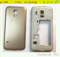 Original Middle Bezel Frame Back Battery Cover Case For Samsung Galaxy S5 mini  Housing +Camera Glass Lens+LOGO