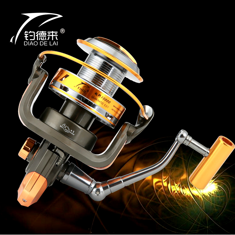 Molinete FDDL Fishing reel10000 full metal wire cup Big long Shot sea salt water 4 7