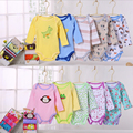 Wholesale! Baby Bodysuits, Boys girls cotton clothes toddler infant animal prints costume 5pcs/lot e98
