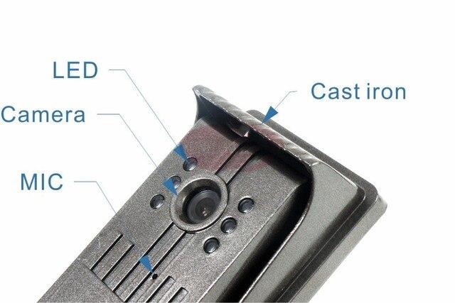 Brand new wired video intercoms Video Door Phone Intercom Doorbell System Rainproof SONY 700TVL, Clearer Video!HD Camera SF-F