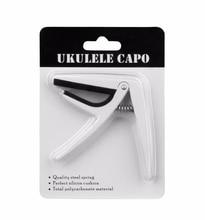 цена на 1Pcs Key Tone Fret School Clamp Capo Quick Board Ukulele Change Clamp Ukulele Universal Metal Capo Free Shipping  Guitar Tuner