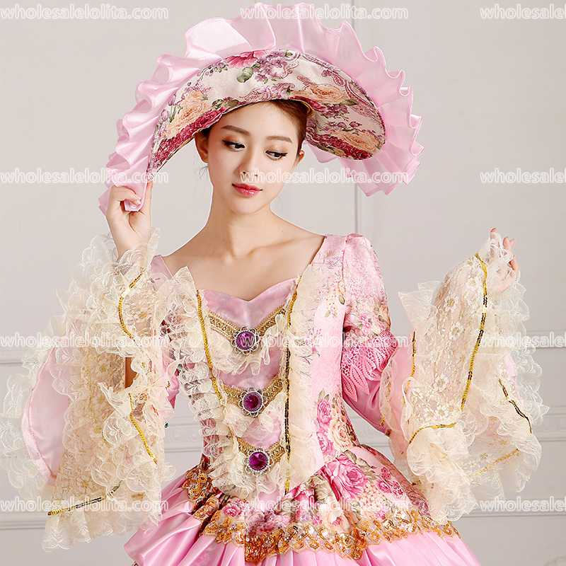 113c878459c1b US $85.2 29% OFF|HOT!! Global FreeShipping 18th Century Marie Antoinette  Renaissance Victorian Period Rococo Belle Prom Party Gowns Dress-in Dresses  ...