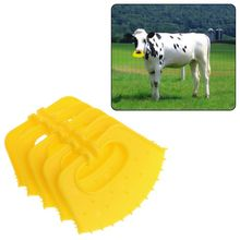 5Pcs Calf Weaner Plastic Cattle Nose Ring Anti-Sucking Miling Stop Thorn Weaning Assistant Tool Livestock Equipment For Farm