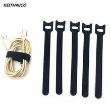50 шт. нейлоновые кабельные стяжки Органайзер провода шнур ремни управление кабель крепления намотки для мыши ПК кабель 12x150 мм