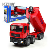 Mr Froger Dump Truck Modle Alloy Car Model Refined Metal Engineering Construction Vehicles Truck Decoration Classic