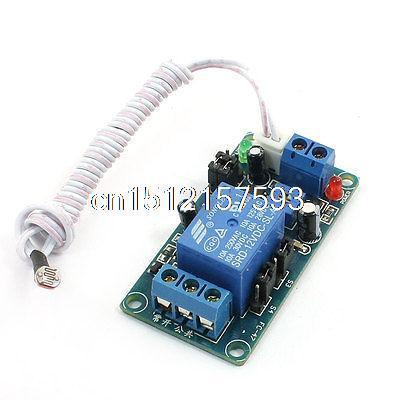 DC 12V Light Control Switch Photoresistor Sensor Relay Module dc 24v photoresistor module relay light detection sensor light control switch s018y high quality