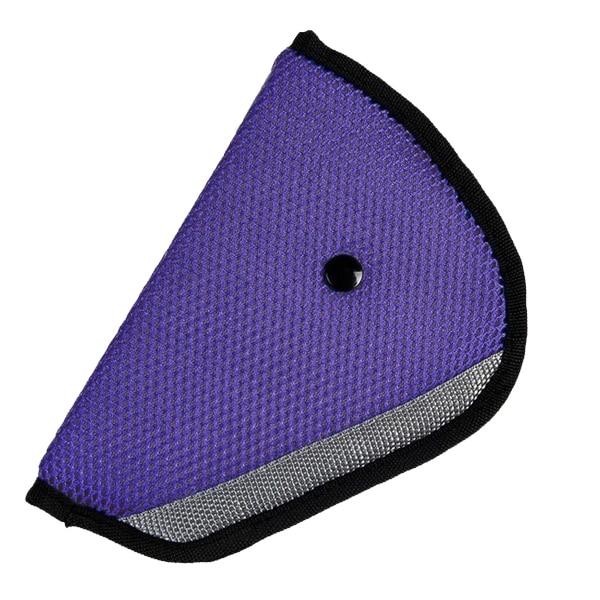 Car Accessories Comfortable Child Car Seat Belt Holder e Purple