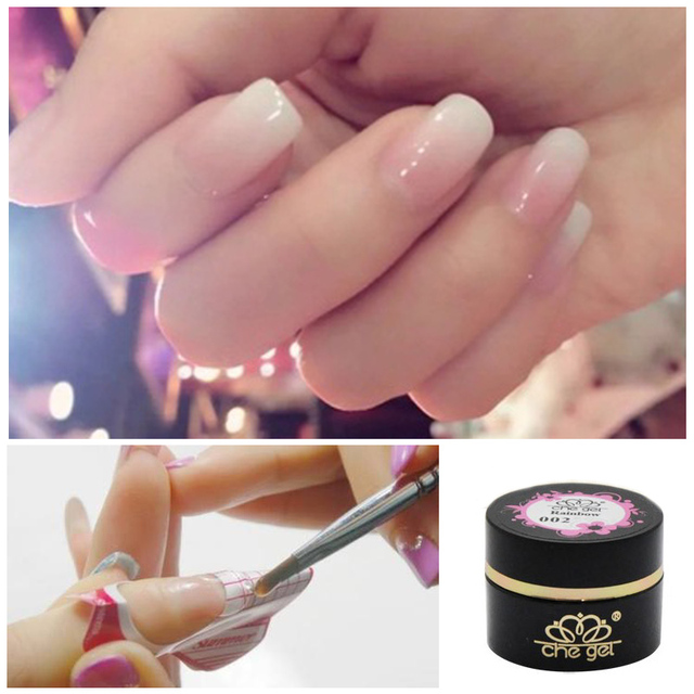 Best Quality Chegel Rainbow Series Transpa Jelly 12 Colors Nail Extension Uv Gel Nails 6ml For
