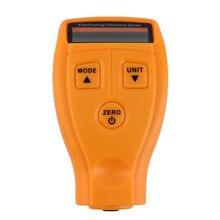 1 x Mini Película de Recubrimiento Medidor de Espesor de Revestimiento Ultrasónico Digital Para vehículos de Hierro Pintura Medidor de Espesor Ancho Medida Meter P20