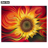 DIY oil painting by numbers abstract painting calligraphy coloring by number flowers acrylic wall picture