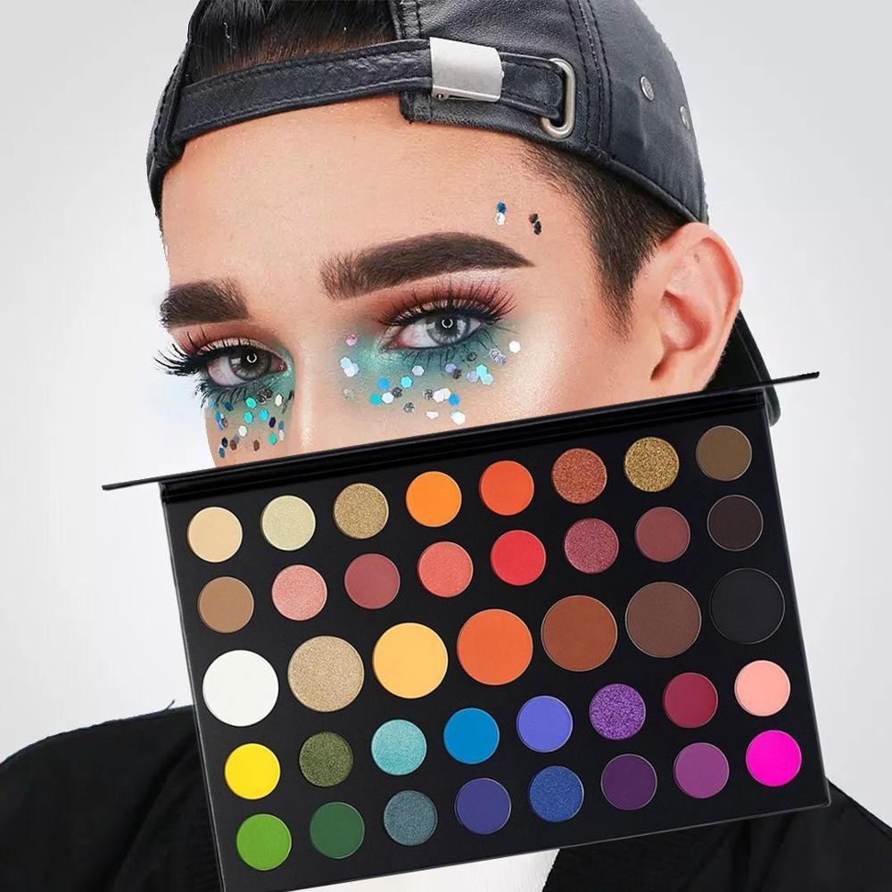 ZHENDUO 39 Cores Novo shimmer matte glitter beleza Maquiagem Paleta da sombra de Olho Da Paleta Da Sombra de longa duração naturais