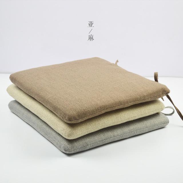 Quadratische Form Kissen Für Bänke Esszimmer Bank Tatami Stuhl Erhöhte  Verdickung Boden Matte