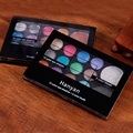 Hot Sale 12Colors Eyeshadow+2 Colors Blush With Mini Brush Bare Earth Colors Eyeshadow Makeup Palette
