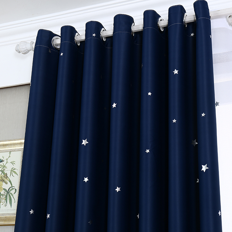 urijk european style hot silver castle pattern decorative curtain full light shading drapes curtain for bedroom living room in curtains from home garden