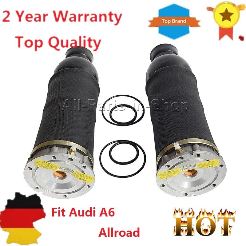 2pcs Front Air Suspension Springs for Audi A6 C5 Allroad Quattro 4BH C5 4Z7616051B, 4Z7616051D