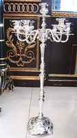 plated Candlestick European Candlestick Wedding Candle Holder high grade atmospheric candle stand floor candlestick