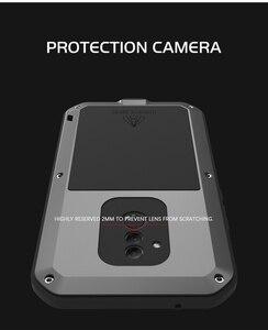 Image 5 - Защитная пленка Gorilla glass в подарок, металлический водонепроницаемый чехол LOVE MEI для Huawei Mate 20 Lite, ударопрочный чехол для mate 20 Lite, чехол, Обложка