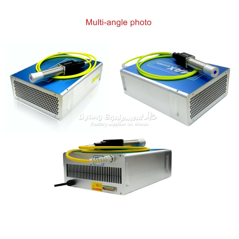 MAX 10W 20W 30W Q switched Pulse Fiber Laser source GQM 1064nm High Quality suitable Laser Marking Machine DIY or replacement цены