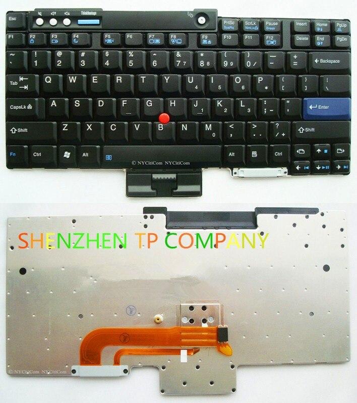 95/% New for Lenovo Laptop IBM T60 T61 X60 R60e R61 T400 R400 T500 X61 X60S Series Keyboard