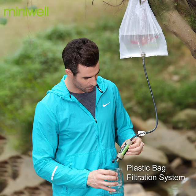 Miniwell water filter system for 2000 Liters 6