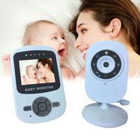 Video Baby Monitor Nfrared Night Vision Care 2 Way Talk Baby Security Camera Temperature Display