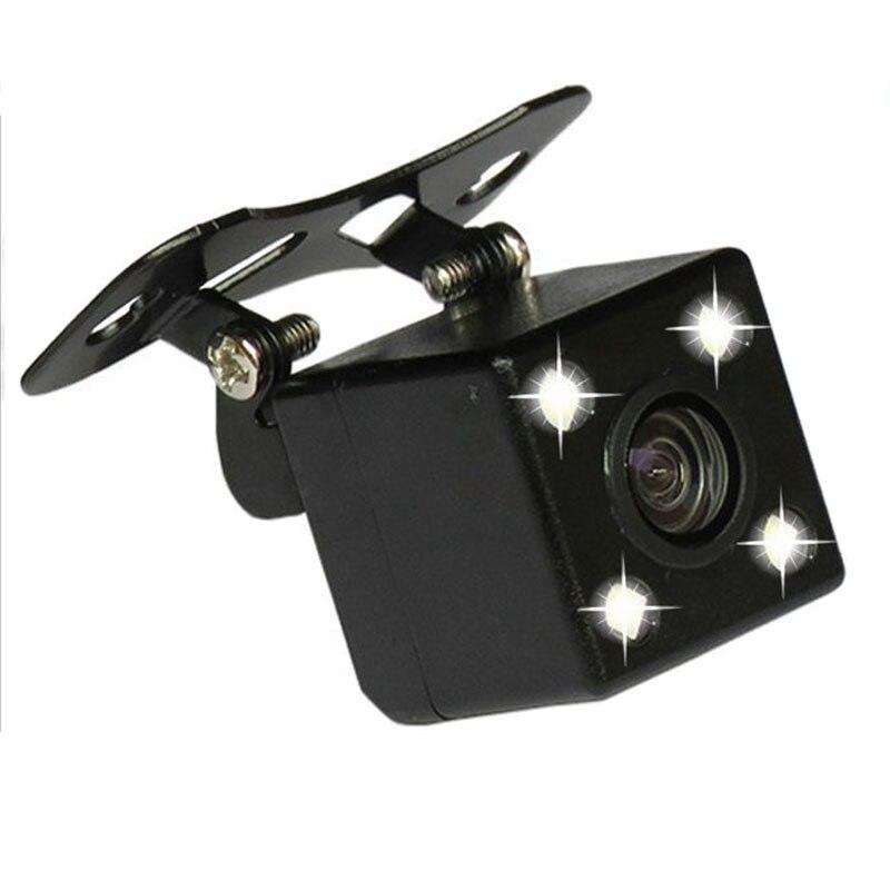 Car Back Camera Rear View Camera Hidden Reverse Cameras for Car Dvr Mirror Recorders 4 Led Night Vision HD CDD Lens 2.5mm Jack