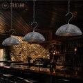 Промышленный подвесной светильник в американском стиле для ресторанов  кантри-арт  балкона  железный чердак  оригинальная Ретро лампа ya72938