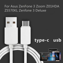 USB Type-C data cable Mobile Phone For Asus ZenFone 3 Zoom Z01HDA ZS570KL Zenfone 3 Deluxe 1m USB Data Charger Cable Sync