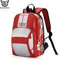 BAIJIAWEI Design 3D Car Shape Backpack For Kids School Backpacks in Primary School For Children Boys Girl Double Shoulder Bag
