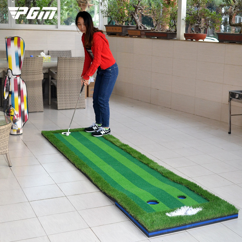 Artificial green indoor golf putting green putting practice device 0.75*3 meters simulation green manufacturers