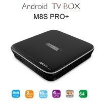M8S Pro Android 7 1 TV BOX 2GB RAM 16GB RAM Amlogic S905X Quad Core Android