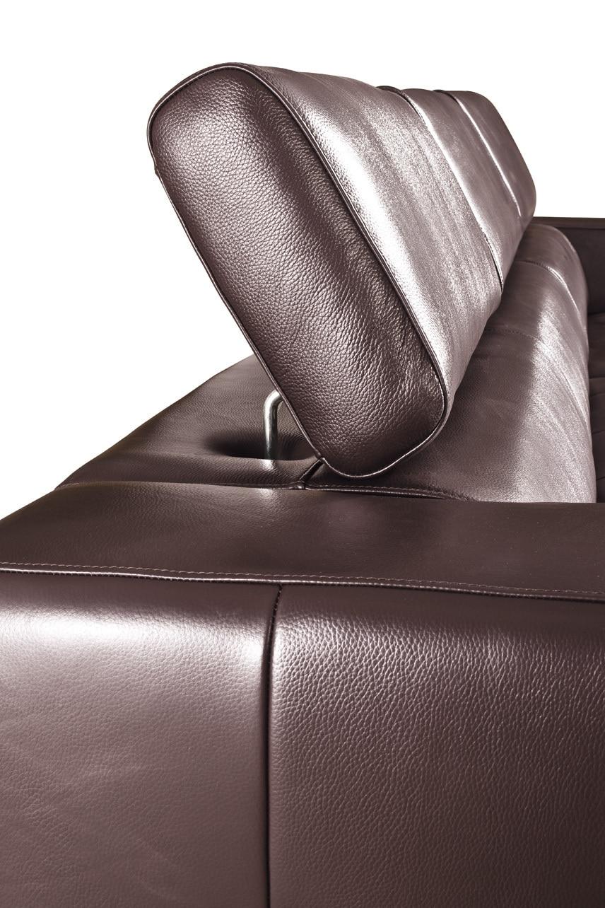 Dermal sofa højkvalitets lædersofa 2015 nye stue sofasektionelle - Møbel - Foto 4