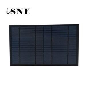 Image 1 - 6/9/18V 10 wat 10W standardowe panele solarne zwierzęta domowe są krzem polikrystaliczny opłata 10W bateria moduł ładowania słonecznego