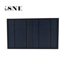 Panel Solar estándar de silicio policristalino, módulo de carga de batería de 10W, 6/9/18V, 10W