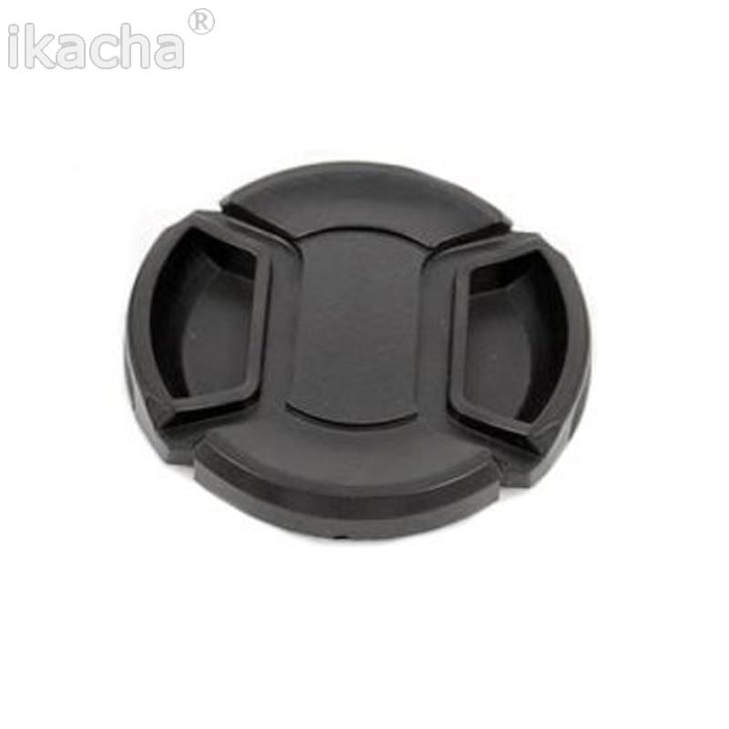 100 pcs/lot 58mm SLR caméra objectif Cap Snap-On avant lentille Protection protéger couverture avec Anti-perte corde pour tous les appareils photo
