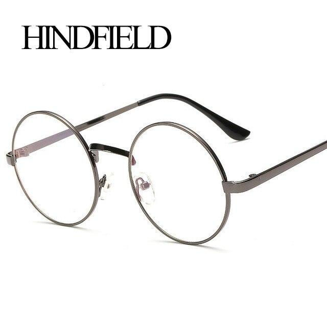 ヾ(^ ^)ノHINDFIELD Fashion Style ᗖ Round Round Eyeglasses