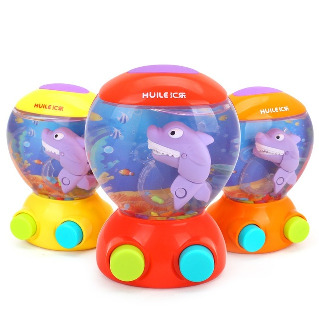 Baby Bath Toys Children Water Shower Toys Shark Fish Hunt Toy Bathroom Game  Play Set Kids
