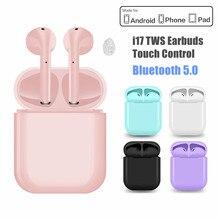 i17 TWS Touch Control Bluetooth Earphone Sport True Wirelss Earbuds Noise Cancel