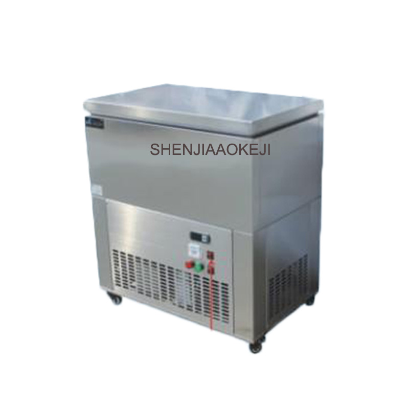 LJM150-6 ice maker 6 barrels of stainless steel ice machine Commercial Snow flake Ice Machine 220V 1.5kw