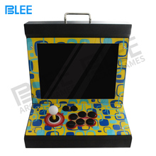 15 дюймов дисплей аркадная видеоигра консоль стол 1299 в 1 коробка 5 аркадный шкаф мини машина для 1 плеер экран заводская цена