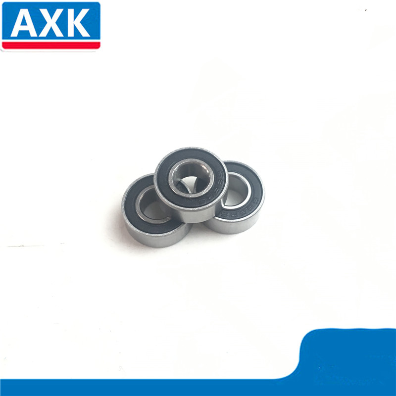 5 PCS Tamiya 1260 Rubber Sealed Ball Bearings Black 6x12x4 MR126-2RS 6 12 4