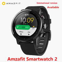 English Version Xiaomi Huami Amazfit SmartWatch 2 GPS PPG Heart Rate Monitor 5ATM Waterproof Sports Smart